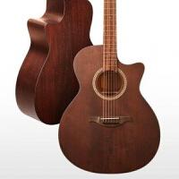 民谣木吉他41寸单板吉它40寸面单初学者学生女男电箱 R-A30 40寸 玫瑰木复古色缺角