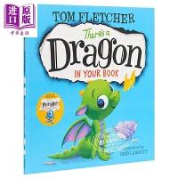 【中商原版】There's a Dragon in Your Book 你的书里有一条龙 低幼亲子故事绘本 英文原版 3