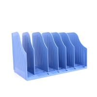 BINB必因必 AE01深蓝色魔动书架 王芳创意文具 学生桌面书架 办公桌收纳架 书本文件筐 可调节可移动 环保礼品