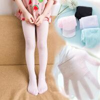 儿童连裤袜春秋款白色丝袜薄款女童打底裤夏季练功跳舞袜子舞蹈袜