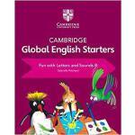 【预订】Cambridge Global English Starters Fun with Letters and