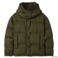短款羽绒服女士2018冬季新款宽松大衣小个子厚面包服外套
