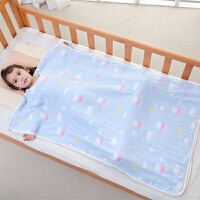 婴儿睡袋儿童春秋四季通用薄棉宝宝春夏季纱布空调房防踢被子