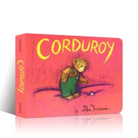 英文原版进口绘本 Corduroy 小熊可杜罗 汪培�E书单推荐 儿童启蒙纸板书 亲子睡前英语故事读物 Don Free