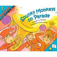 Spunky Monkeys on Parade (Math Start) 数学启蒙:神奇猴的游行 ISBN 9780