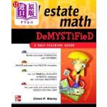 【中商海外直订】Real Estate Math Demystified