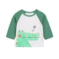 男童打底衫潮婴幼儿春装儿童上衣童春秋宝宝长袖t恤