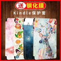 kindle电子书paperwhite4/3/2新款阅读器保护套KPW1皮套998/958入门版558/658全包卡通