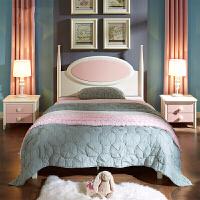 家具�和�床女孩公主床粉色�稳穗p人床�和�房家具 �勐骞�主 1500mm*2000mm 其他�Y��