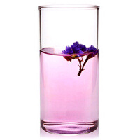 直筒透明耐�岵A�水杯 �k公杯 300ml果汁杯 玻璃杯透明果汁杯耐��o�w牛奶杯水杯玻璃杯