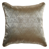 蓝色灰色几何图案靠包方枕现代简约新中式别墅沙发床头靠垫靠枕定制