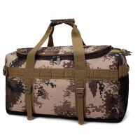 大多功能旅行包男大容量行李袋女双肩包搬家大包迷彩户外包出差、手提包 大
