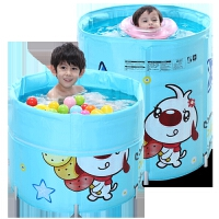 婴幼儿童合金支架游泳池宝宝保温游泳桶 大号婴儿游泳池