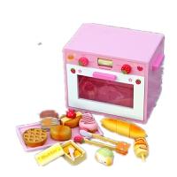 面包烤箱套装 曲奇饼干烘烤套装 木制儿童过家家玩具