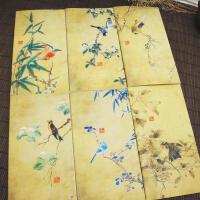 古风花鸟本中国风缝线本古风车线本随手礼品本空白内页日记本个性特色记事