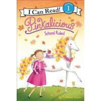 [现货]英文原版 儿童 I Can Read Book 1―Pinkalicious School Rules