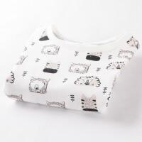 棉果果儿童夏季短袖T恤男宝宝外出半袖