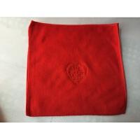 结婚回礼毛巾棉红色绣喜字单双条礼盒情侣独立包装婚庆毛巾10条装k 75x35cm