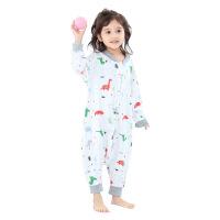 婴儿睡觉儿童睡袋春秋薄款春夏薄棉幼儿防踢被四季神器一宝宝