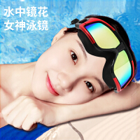 新泳镜高清防水防雾大框游泳眼镜近视度数男女士成人专业装备