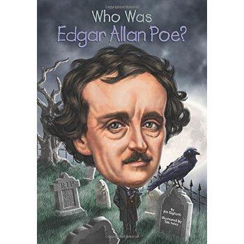【现货】英文原版 Who Was Edgar Allan Poe? 爱伦坡是谁? 名人传记 中小学生读物 国营进口!品质保证!