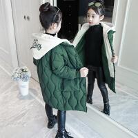 女童6冬季7加厚8棉衣服9大童女装冬装10儿童装12棉袄15岁女孩外套
