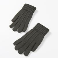 针织男士手套冬季保暖防寒毛线手机触屏手套男秋冬季学生