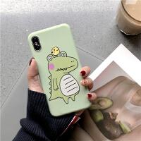 ins可爱绿色女孩 苹果8plus手机壳7plus男女5s xr 8p卡通李现同款iphonex 6s 6plus x