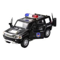 警车合金玩具车模型男孩警察车120救护车儿童仿真汽车模型