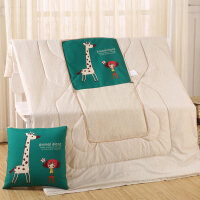 多功能抱枕被子两用卡通沙发午睡枕头汽车靠垫被办公室空调毯子 大号 45x45cm(展开120x160cm)