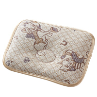 婴儿枕头0-1岁新生儿童夏季透气吸汗定型枕宝宝凉枕冰丝夏天凉爽
