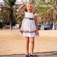 戴维贝拉kids女童连衣裙2020夏装新款童装女儿童洋气公主中大童