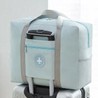 行李箱上的旅行包防水收�{袋折�B手提袋衣服整理打包袋待�a包袋子