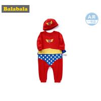 巴拉巴拉婴儿外出服新生儿衣服宝宝连体衣爬爬服0-3个月男超人服
