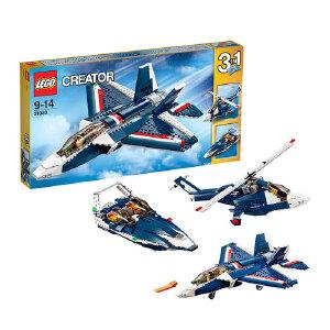 [当当自营]LEGO 乐高 CREATOR创意百变系列 蓝色能量喷气飞机 积木拼插儿童益智玩具 31039