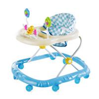 学步车手推车婴6/7-18个月宝宝防侧翻多功能可折叠带音乐学行