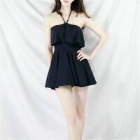 礼服式日系小清新可爱保守泡温泉宽松遮肚套装学生少女泳衣女