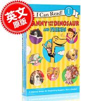 现货 英文原版Danny Dinosaur 恐龙丹尼 汪培�E推荐 I can read