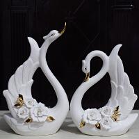 陶瓷摆件结婚礼物新房软装饰品家居装饰品摆设电视酒柜