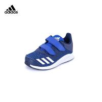 【3折价:110.7元】阿迪达斯(adidas)儿童鞋舒适耐磨男女童休闲运动鞋BA9460蓝色