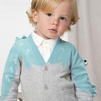 davebella戴维贝拉2020春装新款男童毛衣宝宝针织开衫DBX13341