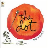 【现货】英文原版 波点 The Dot 3岁以上适读 激发孩子潜能 平装绘本