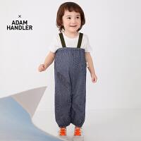 【秒杀价:130元】马拉丁童装男小童套装2020夏装新款俏皮设计感连体衣背带裤