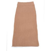 加厚针织半身裙包臀一步裙女中长款2018秋冬新款长裙毛线裙子 S (80-120斤)