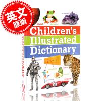 现货 包邮 英文原版 DK Children's Illustrated Dictionary DK 儿童图解字典 图片字典 适合8-10岁宝宝 通过生动图片学习上千词汇