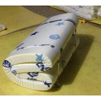 可折叠加厚海绵单人宿舍床垫学生寝室0.9床垫榻榻米垫送垫套定制