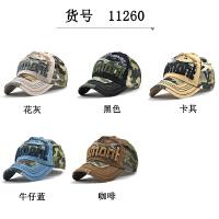 迷彩棒球帽户外遮阳帽男女士丛林帽子休闲时尚拼色帽潮帽