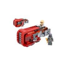 星球大战人仔机器人军事千年隼积木拼装玩具10岁男孩