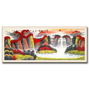 国家一级美术师 范海 《万山红遍DW84》