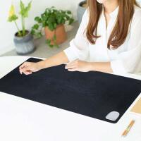 暖手暖桌垫加热桌垫办公室超大号电脑电热鼠标垫写字发热桌上暖垫